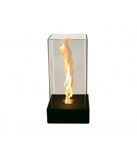 Bio-fireplace with special flamme effect TORNADO