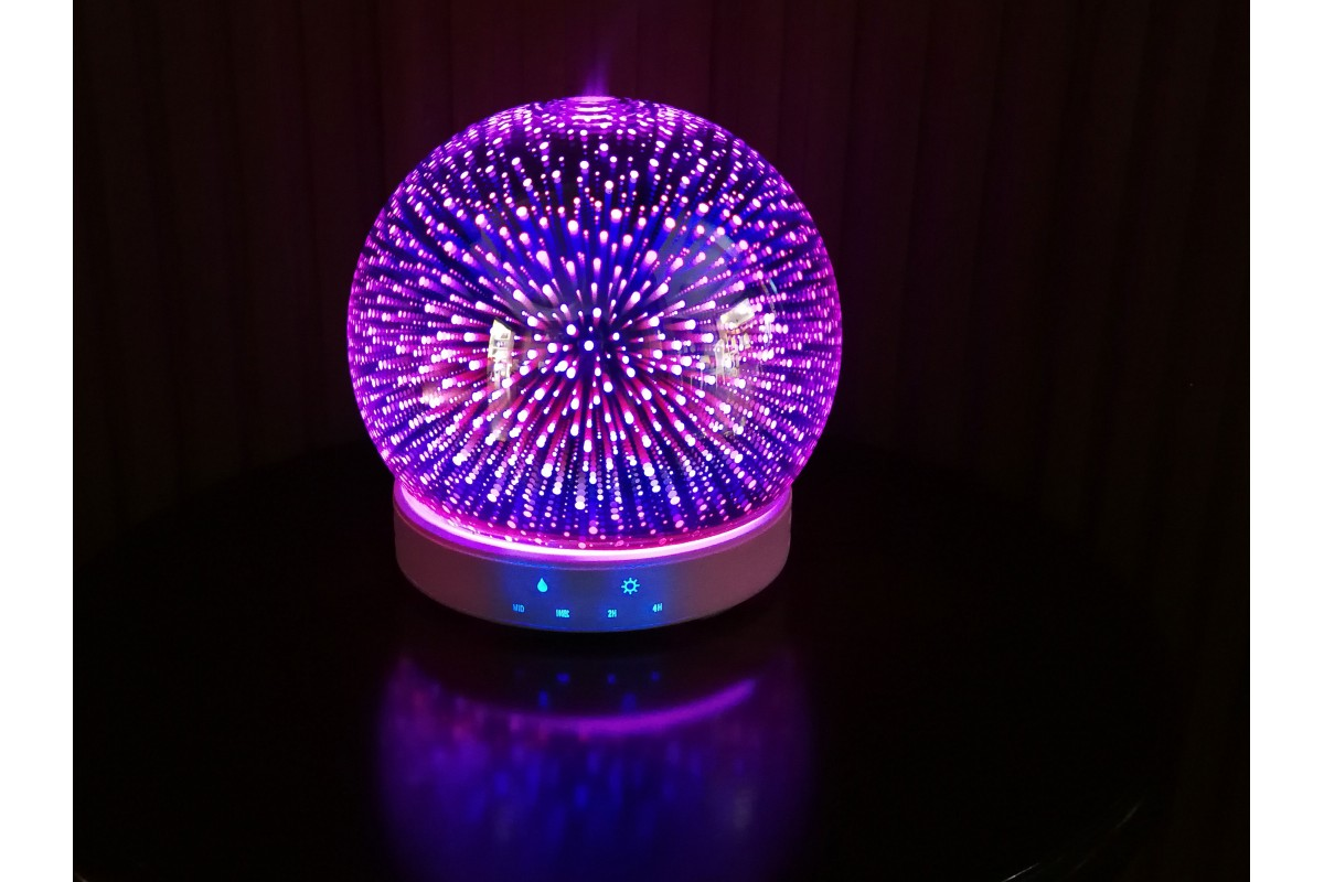 Aroma diffuser with 3d effect glass SUMU 20 Glass E